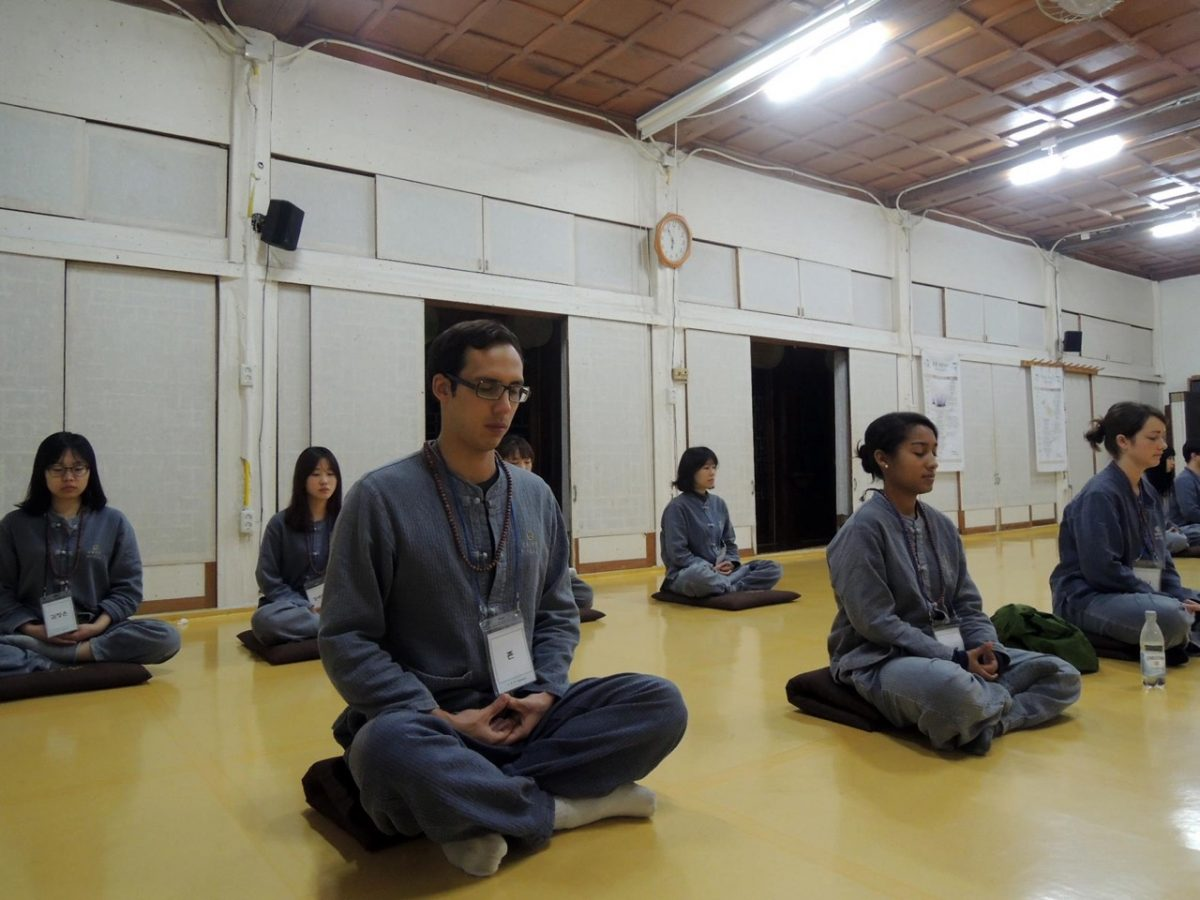 temple stay meditation korea