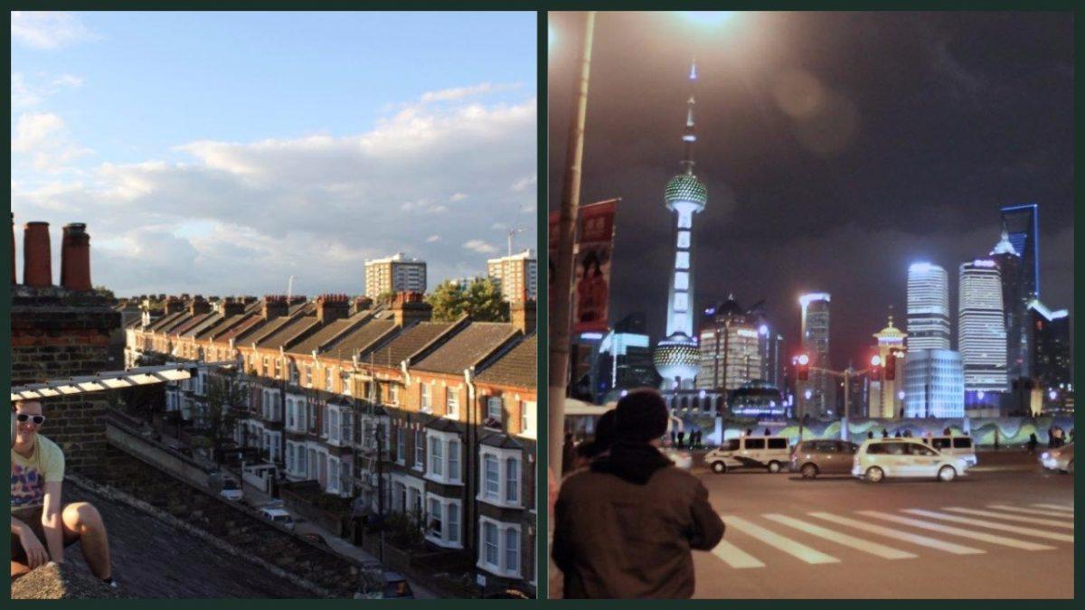 London England Shanghai Pudong