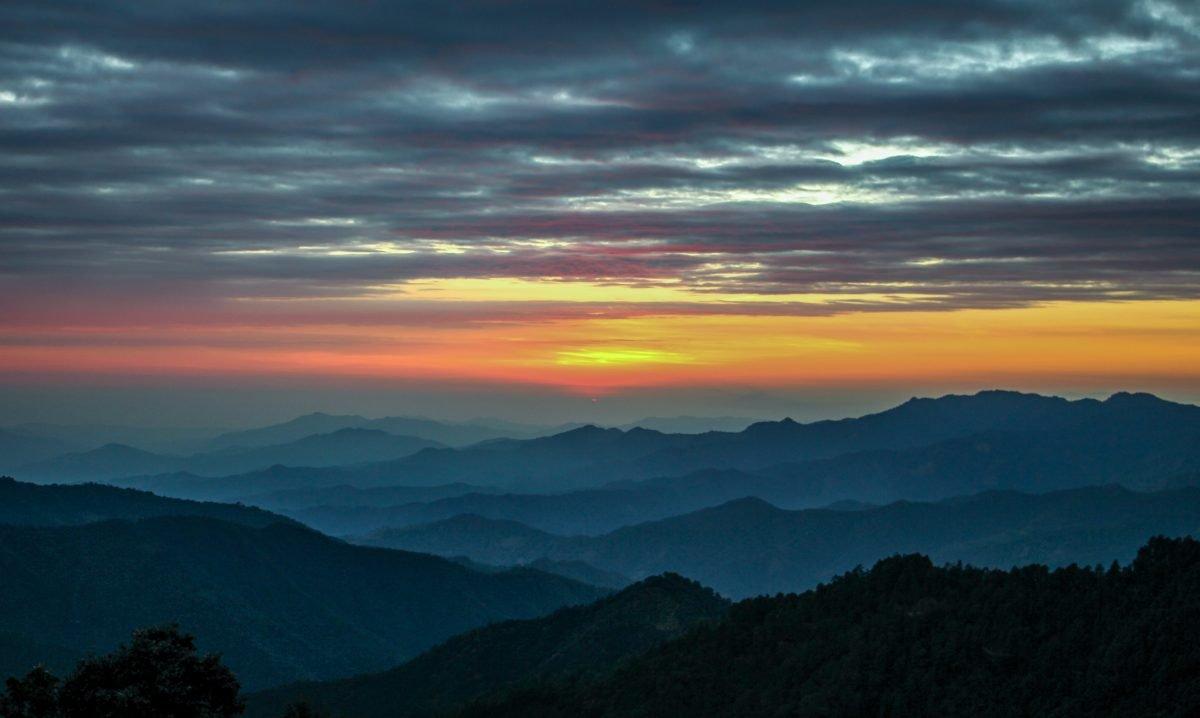 san jose del pacifico sunset mexico