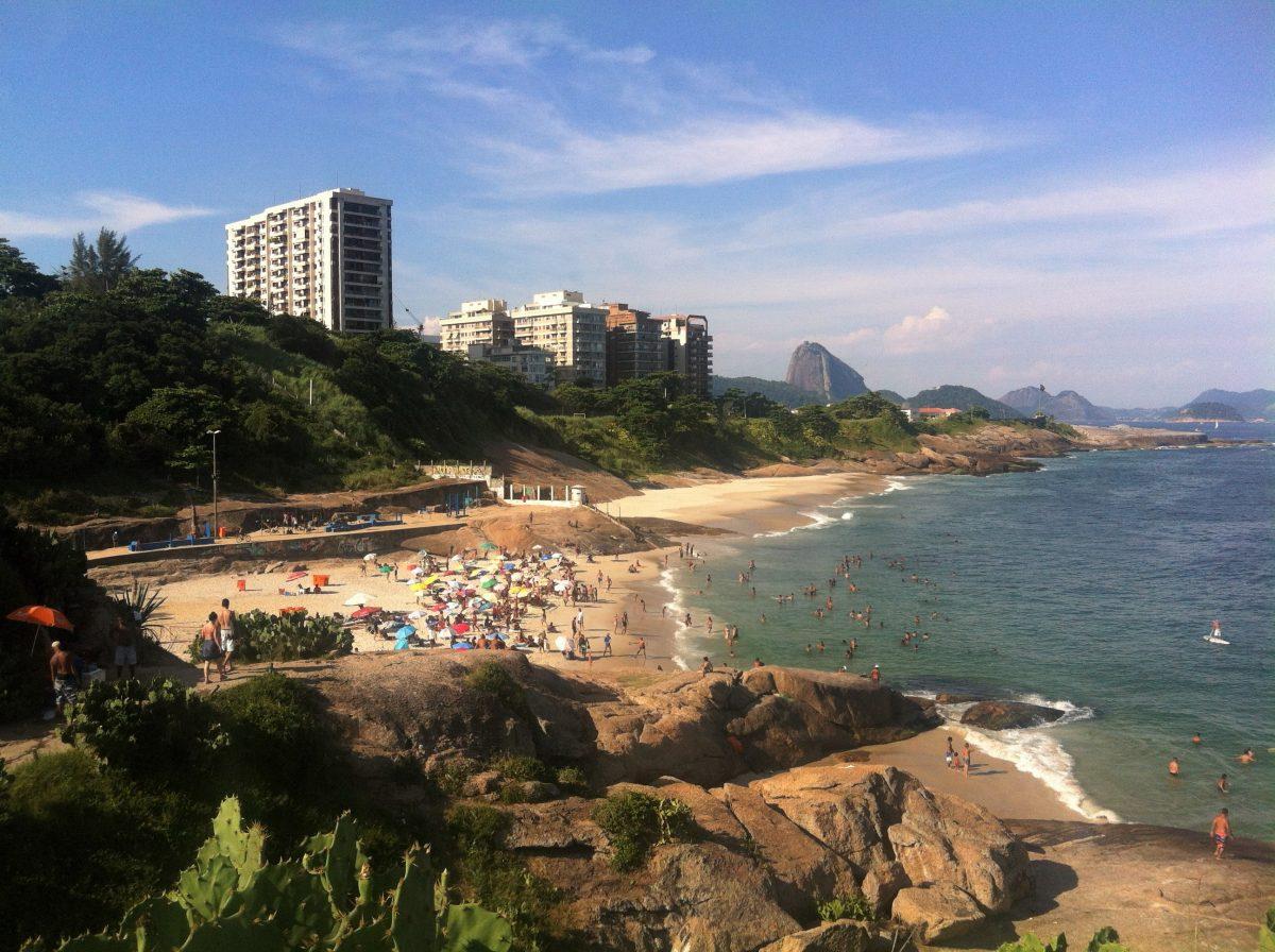 rio de janeiro view ipanema beach