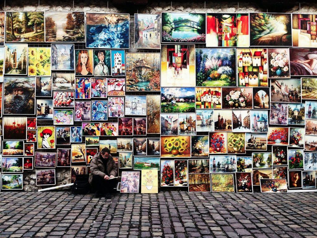 art on street