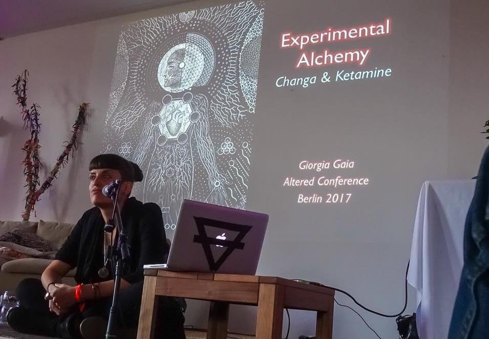 changa ketamine giorgia gaia experimental alchemy altered conference berlin