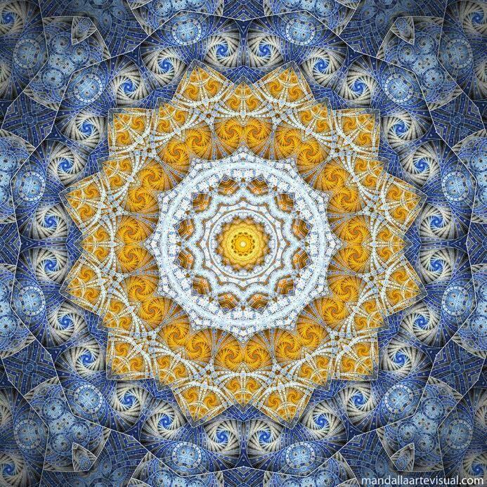 mandala art psychedelic