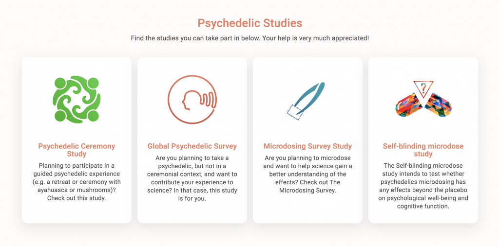psychedelic survey research science