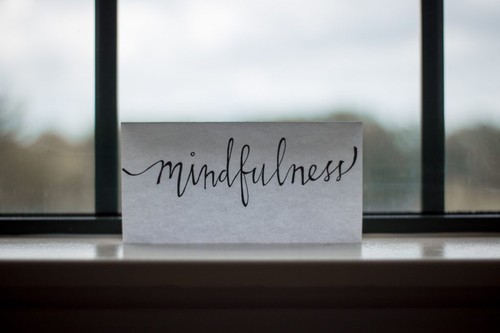 mindfulness sign