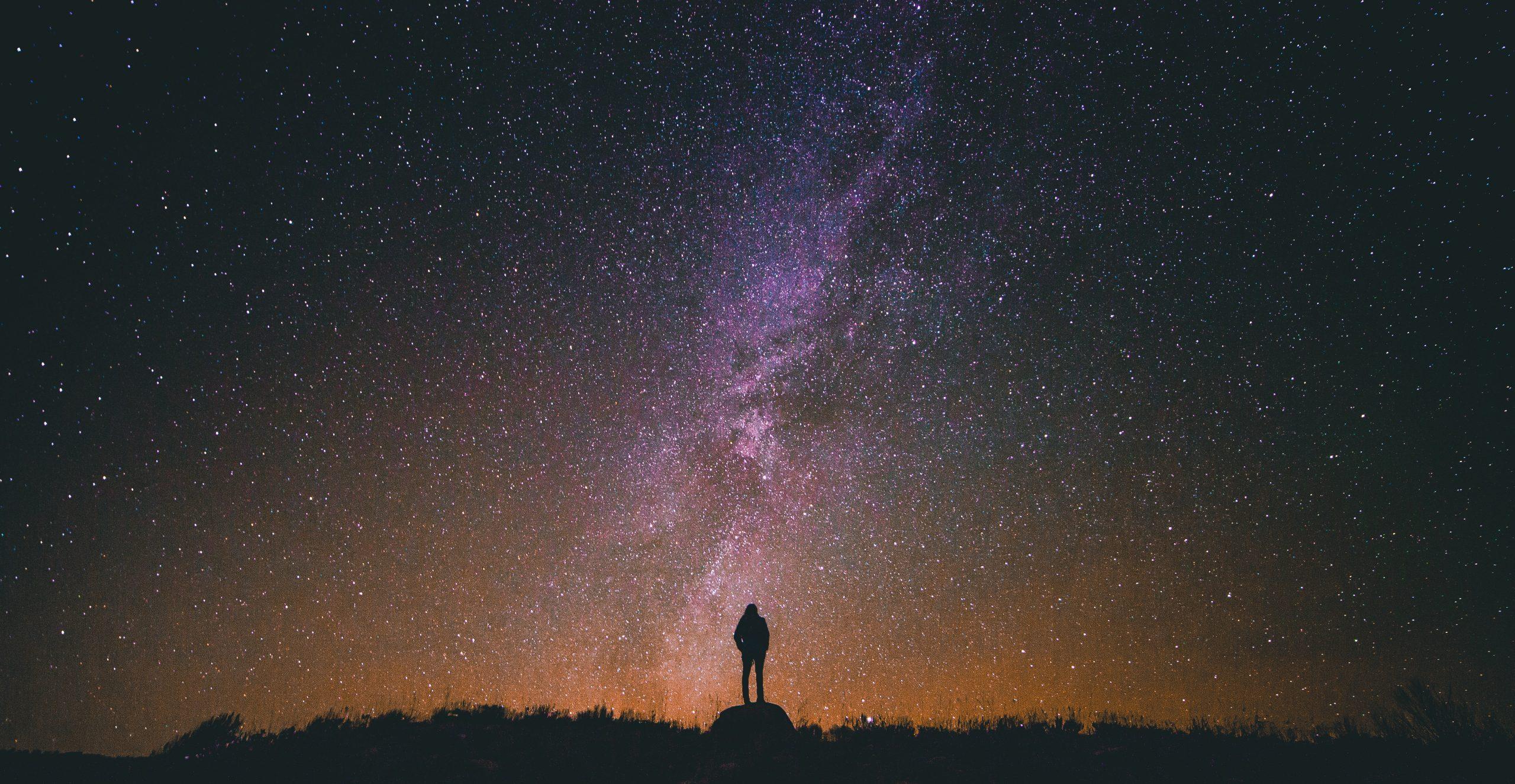space universe man