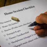 trip home session checklist
