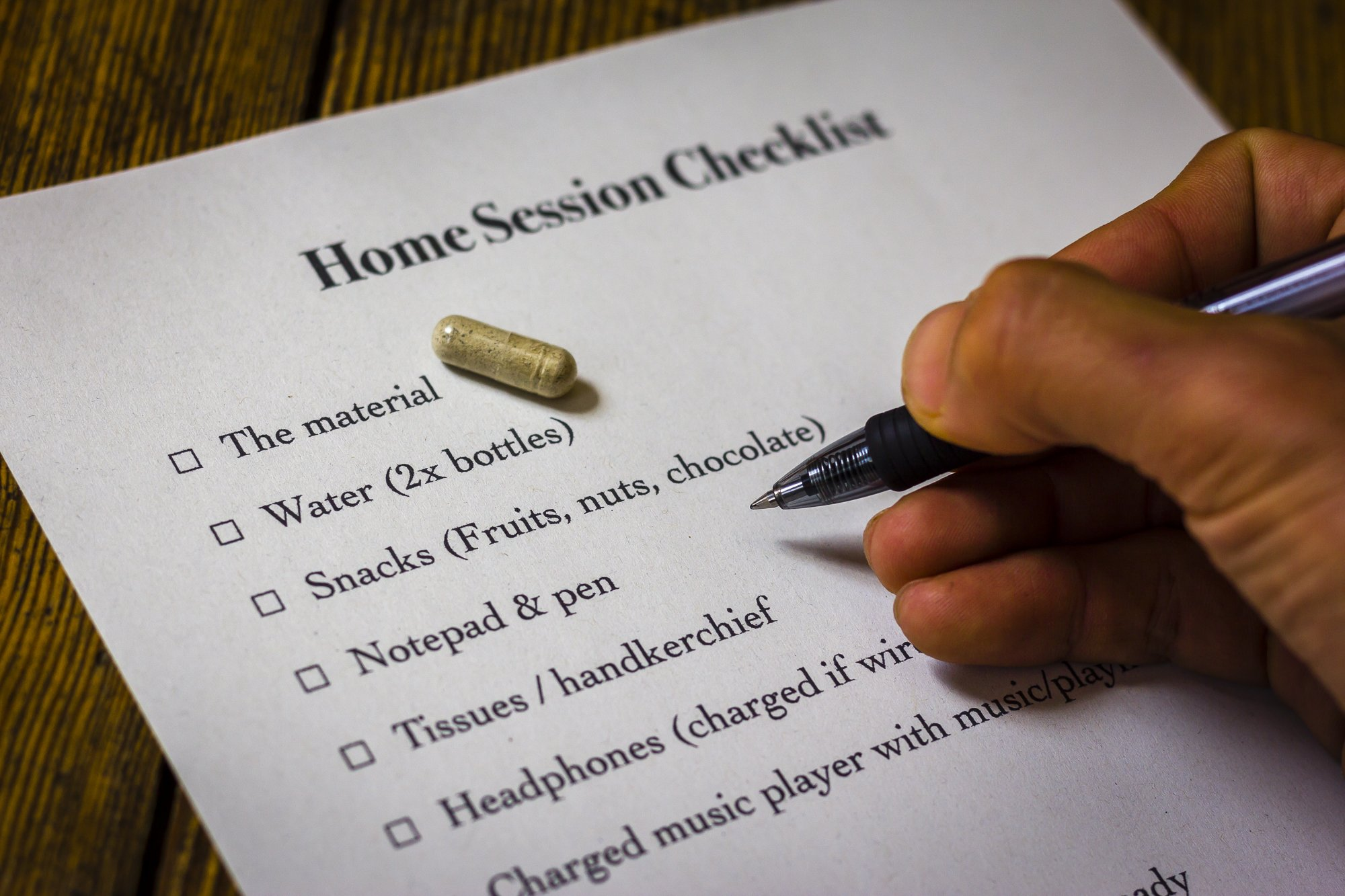 trip home session checklist