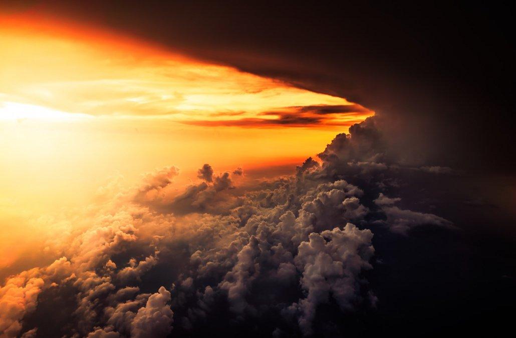 storm sunlight