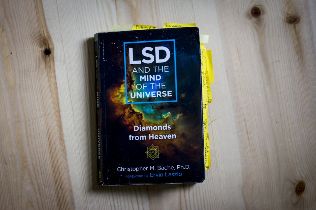 LSD mind of the universe bache book
